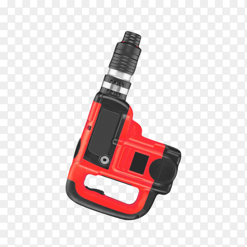 Drill. cordless drill and screwdriver isolated on transparent background PNG