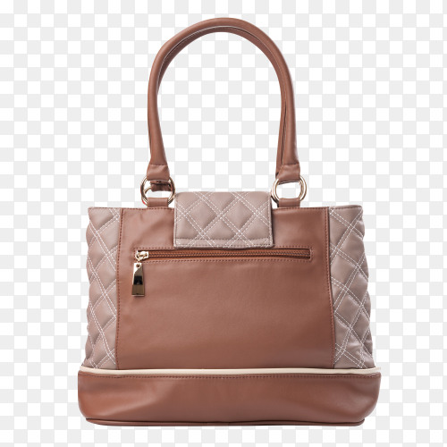 Fashion women bag isolated on transparent background PNG