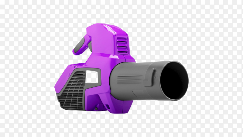 Garden blower isolated on transparent background PNG