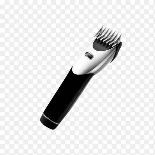 Hair clipper on transparent background PNG