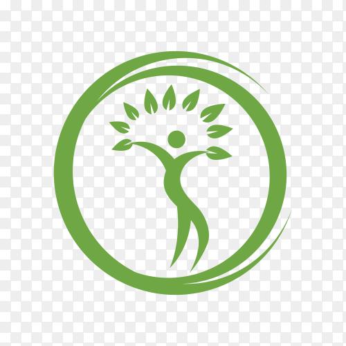 Health logo on transparent background PNG