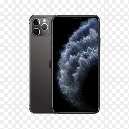 IPhone 11 pro Max SG 2 on transparent background PNG