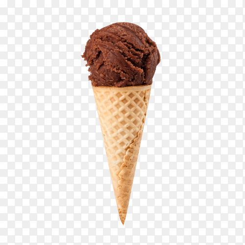 Ice cream isolated on transparent background PNG