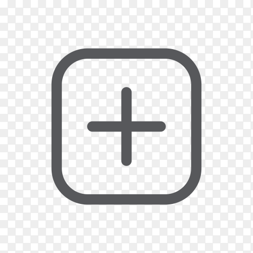 Instagram camera icon on transparent background PNG