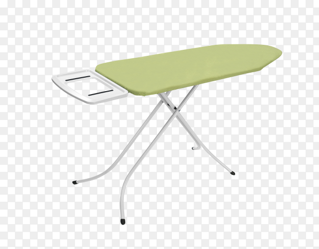 Ironing board isolated on transparent background PNG