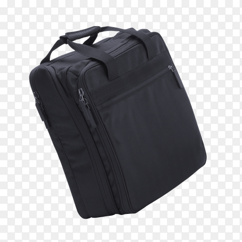 Laptop bag isolated on transparent background PNG