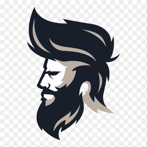 illustration Barberman on transparent background PNG