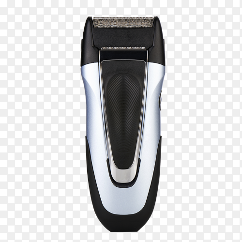 Black Electric shaver on transparent background PNG