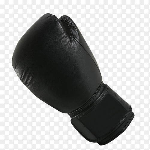 Boxing glove on transparent background PNG