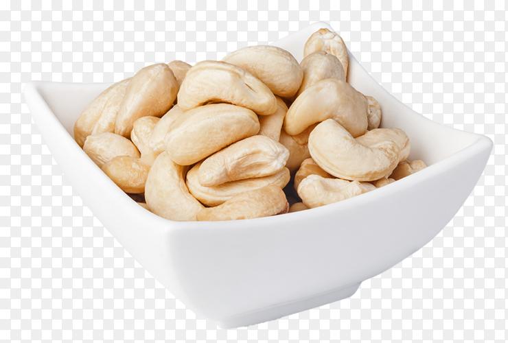 Cashew nut on transparent background PNG