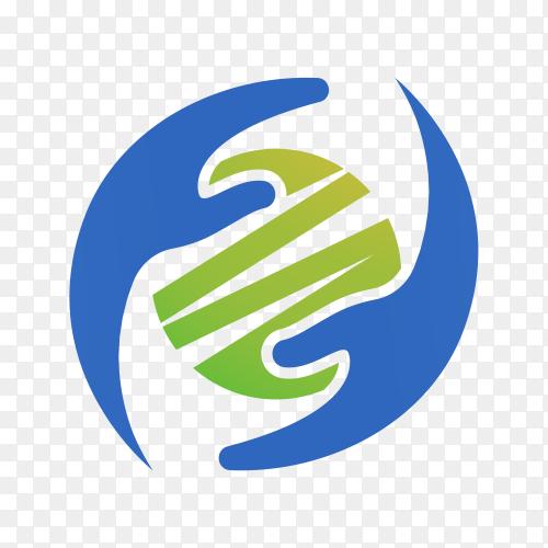Community care logo on transparent background PNG
