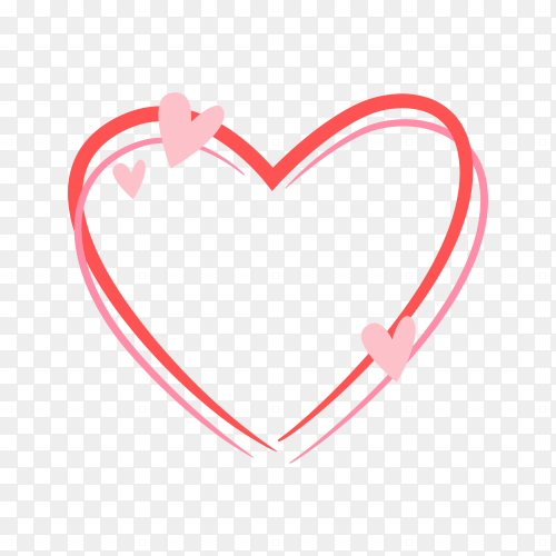 Flat mother's day badge on transparent background PNG