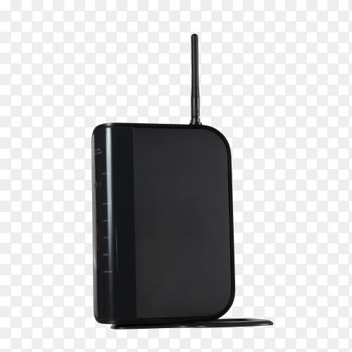 WiFi modem for internet on transparent background PNG