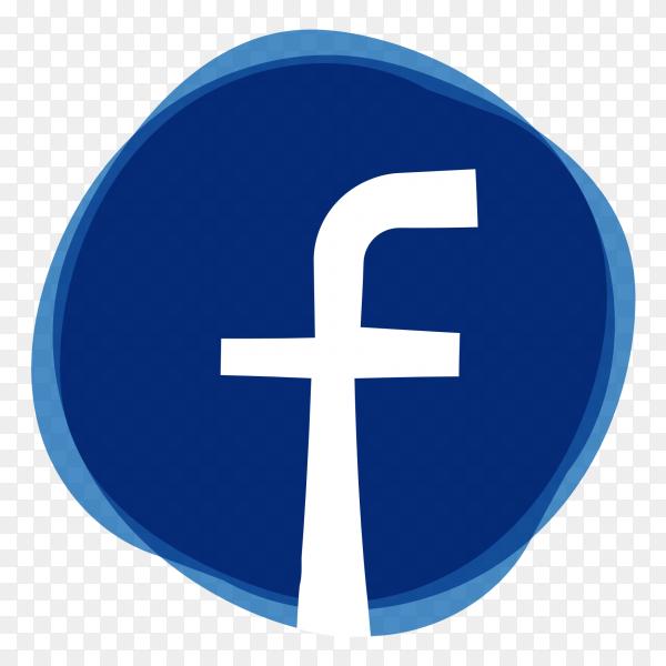 Cute logo Facebook PNG