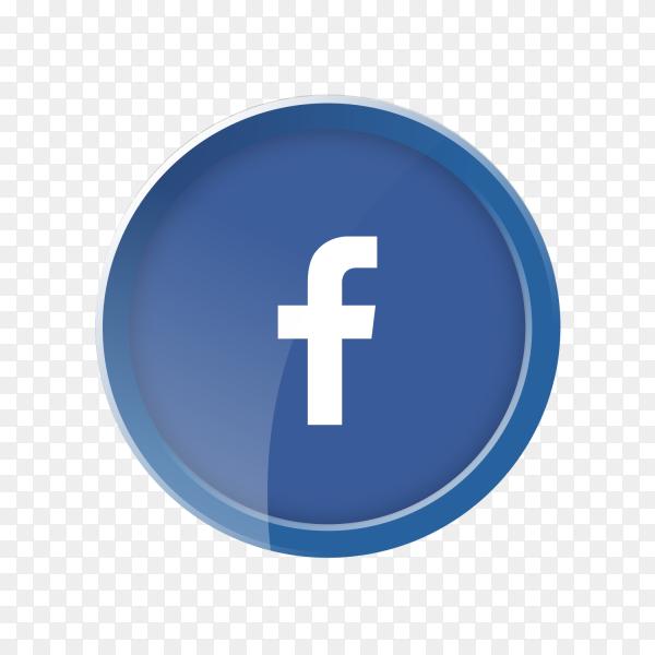 Facebok circular logo PNG