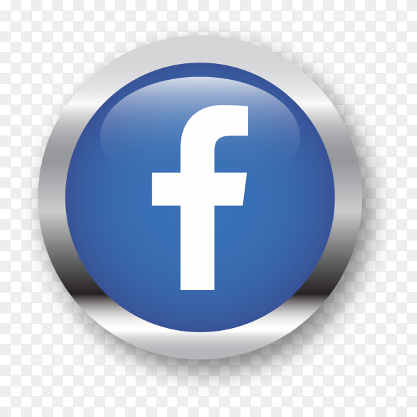 Facebook logo social network illustration PNG