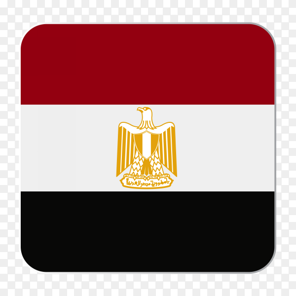 Flag Egypt high quality PNG