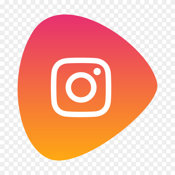 Instagram logo gradient social media icon PNG