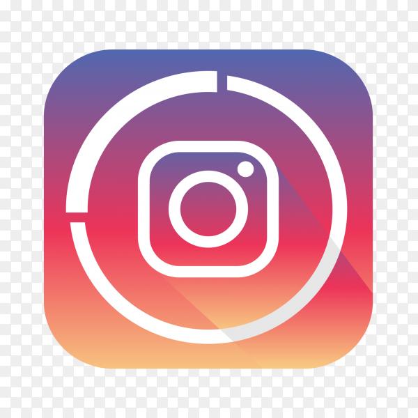 Instagram logo popular social media icon PNG