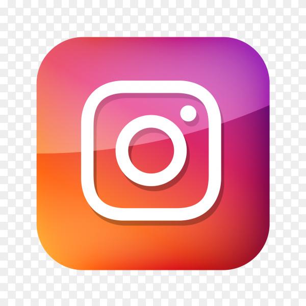 Instagram logo social network PNG