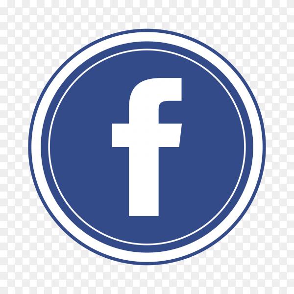 Logo facebook popular social media icon PNG