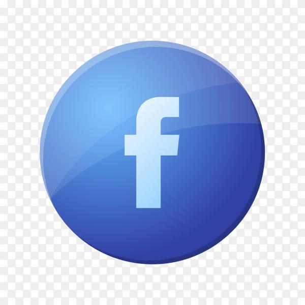 Logo facebook social media PNG