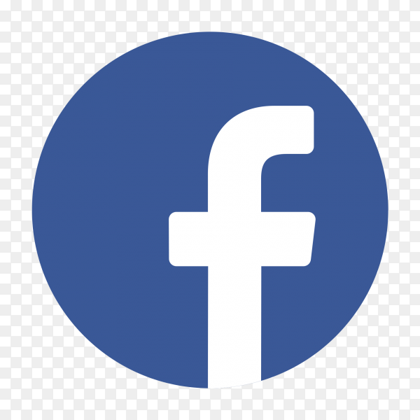 Popular logo facebook PNG