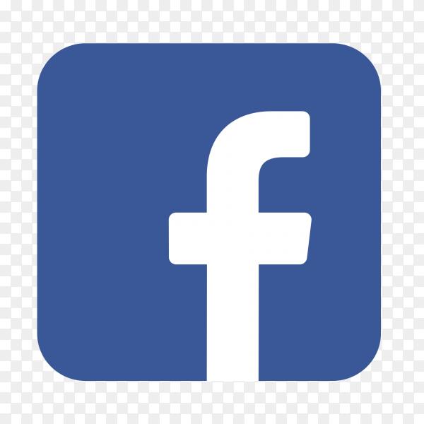Popular facebook logo PNG