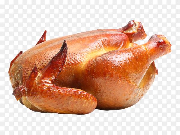 Roast chicken transparent PNG