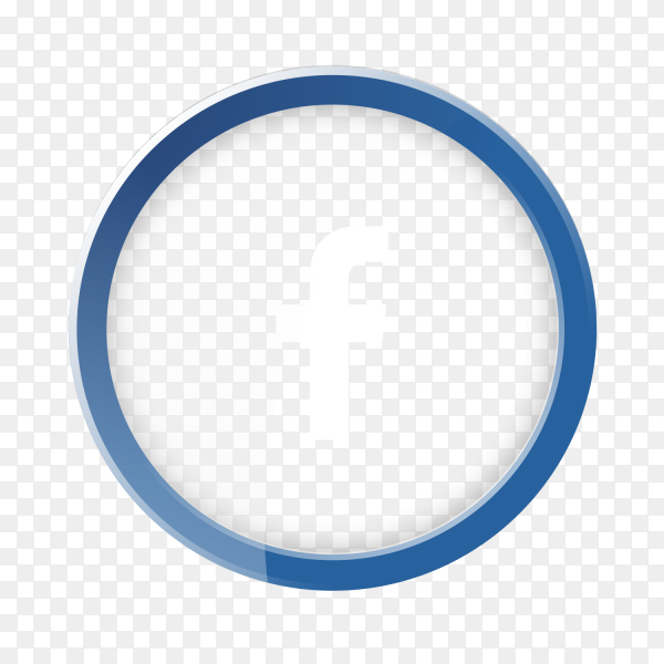 White facebook logo PNG