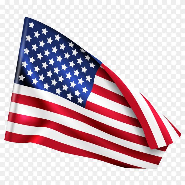 American USA flag PNG