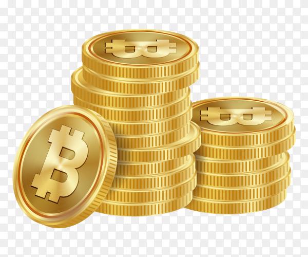 Bitcoin vector PNG