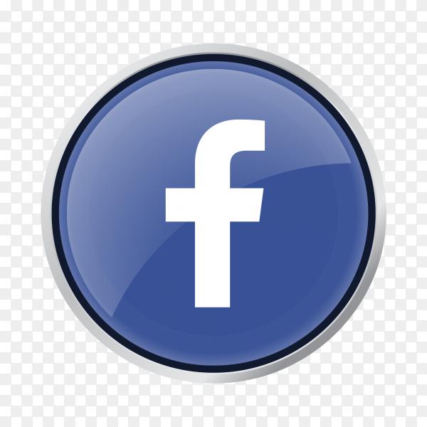 Button facebook PNG