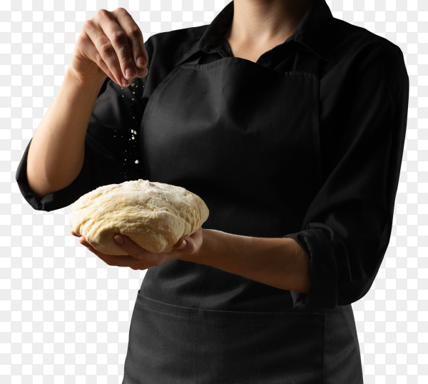 Dough hands chef-chief PNG