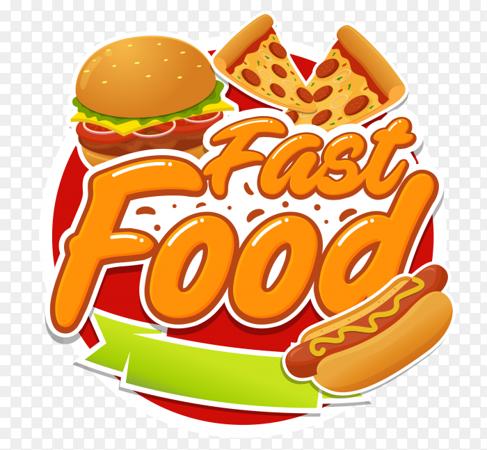 Fast food logo PNG