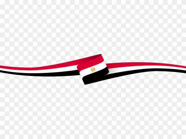 Flag Egypt design PNG