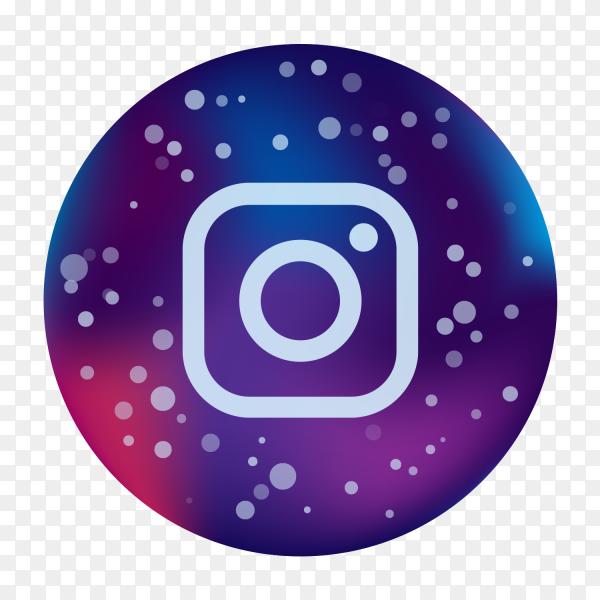 logo Instagram icon modern social media Colored PNG