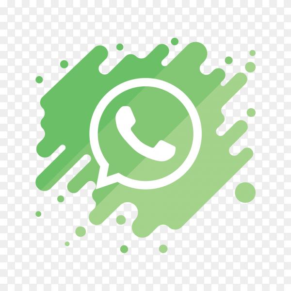 Logo WhatsApp modern PNG