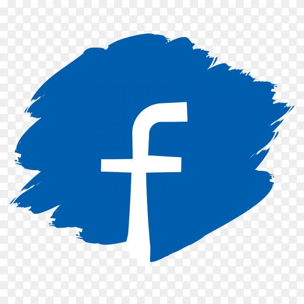 Scribble faceboo logo PNG