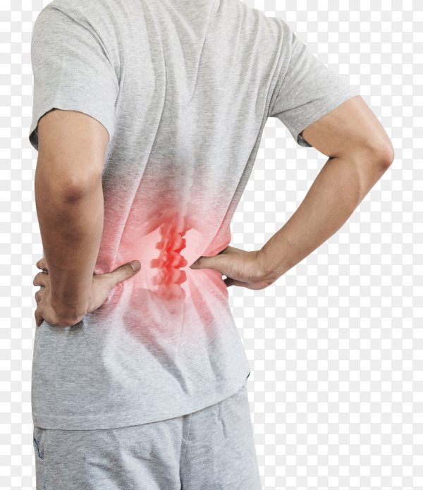 Backache And Lower Back Pain Concept Transparent Png Similar Png