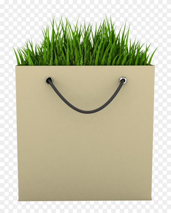 Eco Shopping Bag image transparent PNG