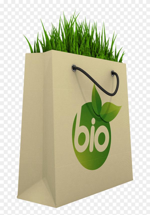 Eco friendly Shopping Bag transparent PNG