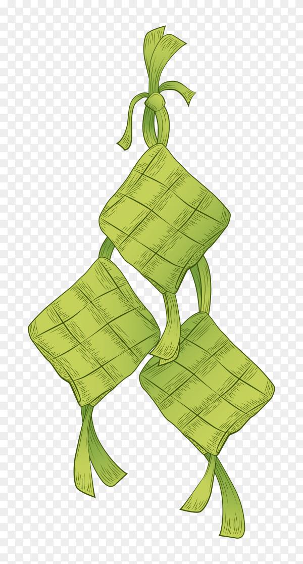 Ketupat transparent background PNG