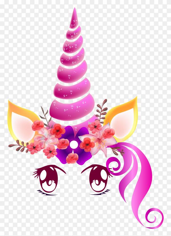 Magical unicorn PNG