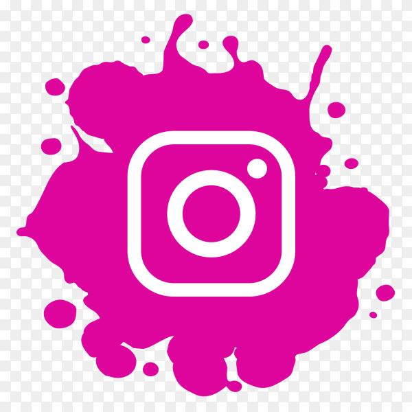 Modern Paint Splash Instagram Logo Png Similar Png