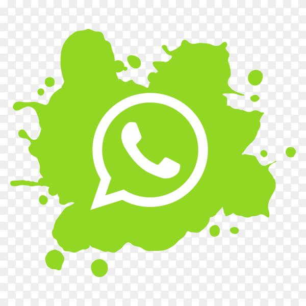 modern paint splash whatsapp logo png similar png modern paint splash whatsapp logo png