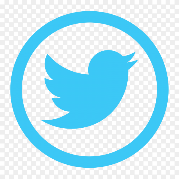 Popular social media Twitter logo transparent PNG - Similar PNG