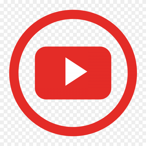 Popular social media YouTube logo transparent PNG - Similar PNG