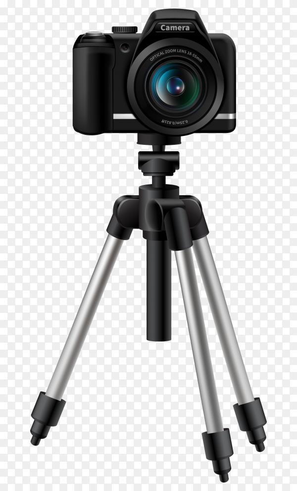 Realistic Digital Camera On Tripod Vector Png Similar Png