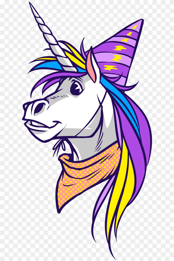Unicorn transparent PNG